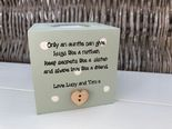 Personalised Auntie Aunty Great Aunt Any Name Candle Gift.. Birthday
